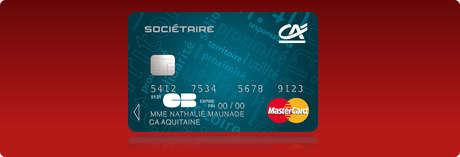 Cr dit agricole aquitaine mastercard soci taire tous - Plafond carte maestro credit agricole ...